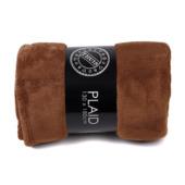 Plaid Fleece 130x180 Bruin