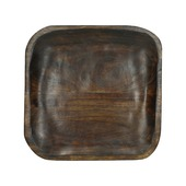 Tray hout bruin 30x30x2,5 cm