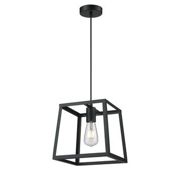 KARWEI Hanglamp Milas zwart
