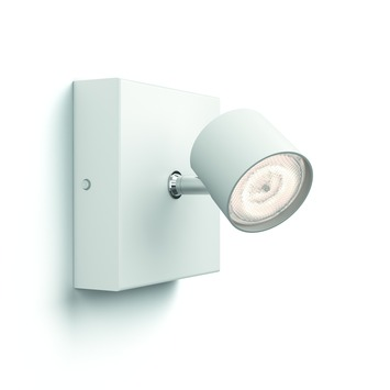 Philips opbouwspot Star wit