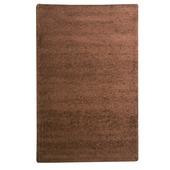 Vloerkleed Sienna bruin uni 200x290cm