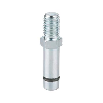 Montagestift voor wielen 10 mm met draad M10 2 stuks