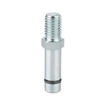 Montagestift voor wielen 8 mm met draad M8 2 stuks