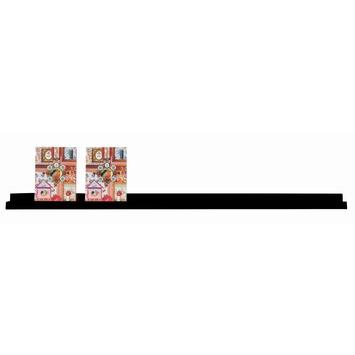 Fotolijst Wandplank Wit.Woood Fotolijst Wandplank Zwart Gelakt Mdf 120 Cm