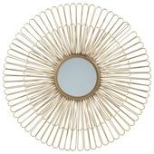Spiegel metaal zon