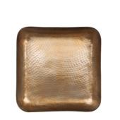 Tray Donna goud 2x36x36 cm