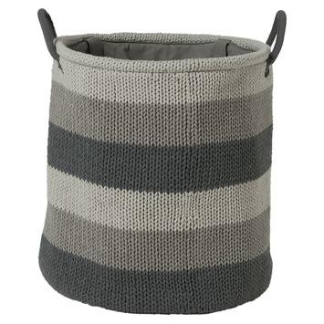 Sealskin Wasmand Knitted Grijs 35 L