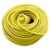 Handson tuinverlengsnoer 20 meter randaarde 3x1mm geel