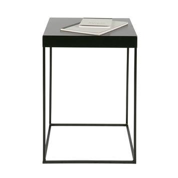 WOOOD bijzettafel Meert, zwart gelakt metaal 30x30x45 cm