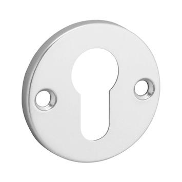 Cilinderplaatje aluminium