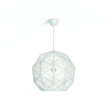 Philips hanglamp Mohair wit