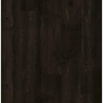 Vliesbehang gebrand hout bruin (dessin 103980)