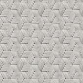 Vliesbehang ratan wit (dessin 103979)
