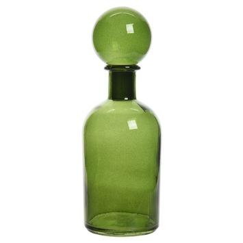 Fles glas incl stop  Ø6x18cm