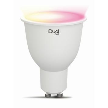 iDual one reflector GU10 250lm RGB 2st. met afstandsbediening