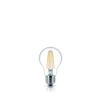 Philips led filament peer E27  6W=60W 2 stuks