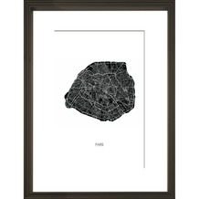 Print in lijst 30x40 Parijs