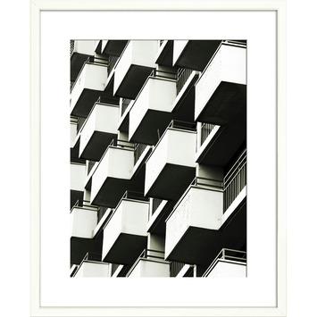 Print in lijst 40x50 Balcons
