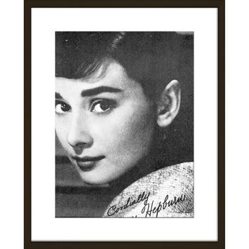Print in lijst 40x50 Audrey