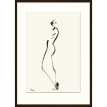Print in lijst 50x70 Petra Lunenburg Silhouet