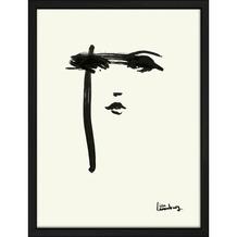 Print in lijst 30x40 Petra Lunenburg face