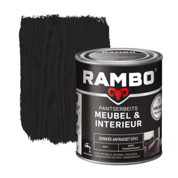 rambo pantserbeits vintage meubel interieur donker antraciet 750 ml