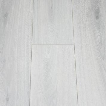 Watervast Laminaat Licht Grijs Eiken 4V-groef 8 mm 2,13 m2