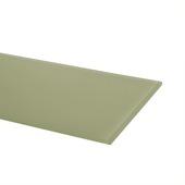 Duraline glaspaneel rechthoek 600x150x6 mm kristal