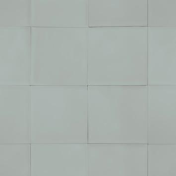 vtwonen vliesbehang  tiles zeegroen (dessin 103996)