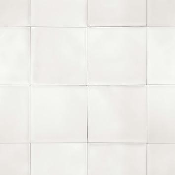vtwonen vliesbehang  tiles wit (dessin 103995)