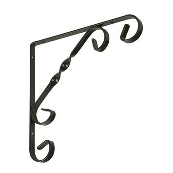 Duraline plankdrager ornament antiek bruin 15x15 cm