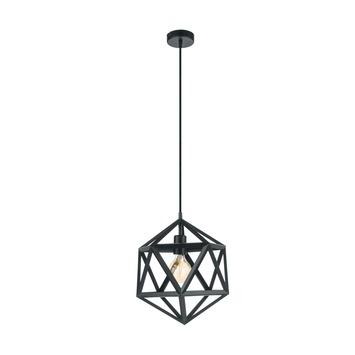 Eglo hanglamp Embleton zwart