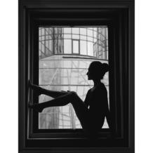 Print in lijst girl in frame 30x40