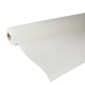 OK glasweefselbehang standaard ruit wit 95 gram - 25 m (dessin P251-25)