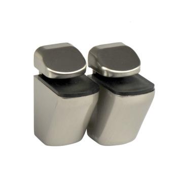 B! Organised clip mini geborsteld nikkel