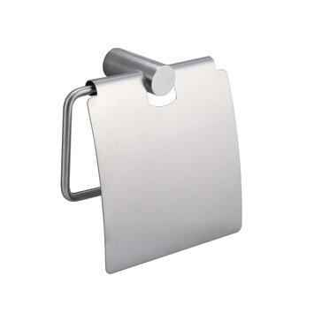 Handson Blister toiletrolhouder met klep RVS