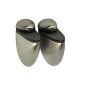 B! Organised clip select geborsteld nikkel