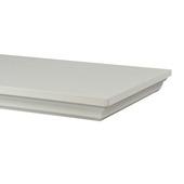 B! Organised zwevende wandplank klassiek wit 80 cm