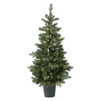 Kunstkerstboom Halmstad met led verlichting 120 cm kopen? Overige ...