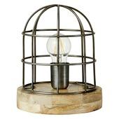 Tafellamp Carandora vintage-tin