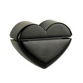 B! Organised clip klassiek hart oud zwart
