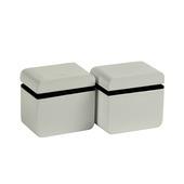 B! Organised clip round cube mini hoogglans wit