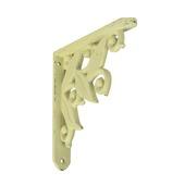 B! Organised plankdrager lelie oud wit 14,5x14,5 cm