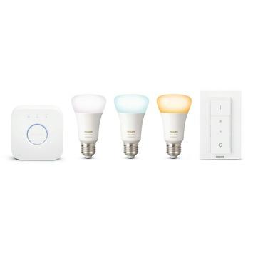 Philips Hue white Ambiance starterset met 3 lichtbronnen
