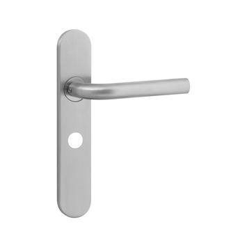 KARWEI Henry deurkrukset met slotgat voor wc 63/8mm rvs