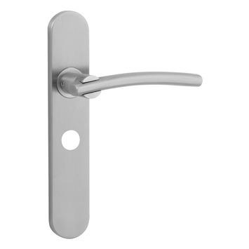 KARWEI John deurkrukset met slotgat voor wc 63/8mm RVS