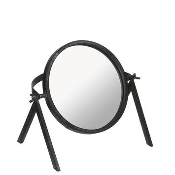 Lindon spiegel zwart