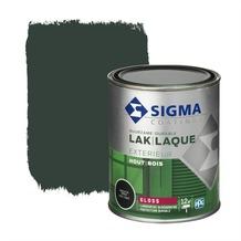 Sigma houtlak exterieur hoogglans grachtengroen 750 ml