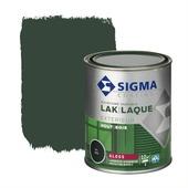 Sigma houtlak exterieur hoogglans RAL 6009 dennengroen 750 ml