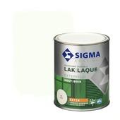 Sigma houtlak exterieur zijdeglans RAL 9010 750 ml